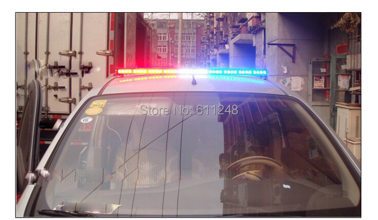 46inch 144w car roof led strobe lights bar police emergency 46inch 144w car roof led strobe lights bar police emergency warning fireman flash led trailer lights 12v led police lights bar in light barwork light from mozeypictures Image collections