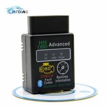 ELM327 HH OBD Blueto Bluetooth OBD2 OBDII CAN BUS проверить двигатель автомобиля Авто диагностический сканер инструмент Интерфейс адаптер для Android ПК