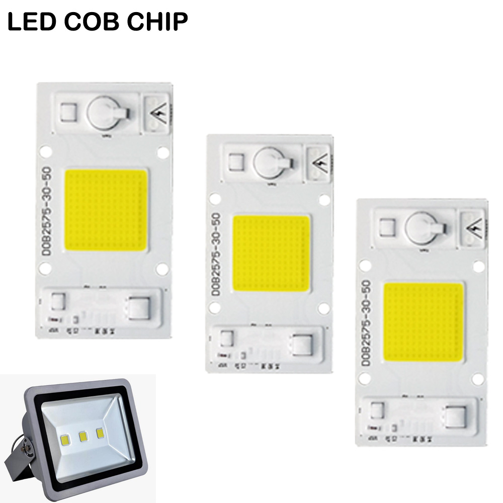 20W 30W 50W High Power Integrated COB Chip Lamp 110V 220V Matrix LED Spotlight DIY Projector Flood Light Outdoor Street Lampada ...
