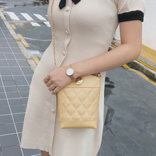 2019 Fashion Mobile Phone Crossbody Shoulder Bag For Women Bucket Small Handbag Female Long Purse Coin Cell Bags