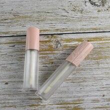 Матовый прозрачный блеск для губ тюбики розовый колпачок пустая губная помада тюбик бальзам для губ контейнер косметическая упаковка сделай сам