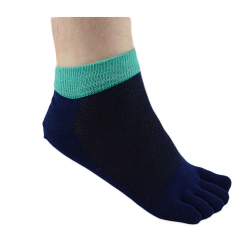 MUQGEW 2017 New Men s Casual Comfort Ventilation Cotton  Breathable  Five Finger Socks Toe Socks soft Socks masculinas meias