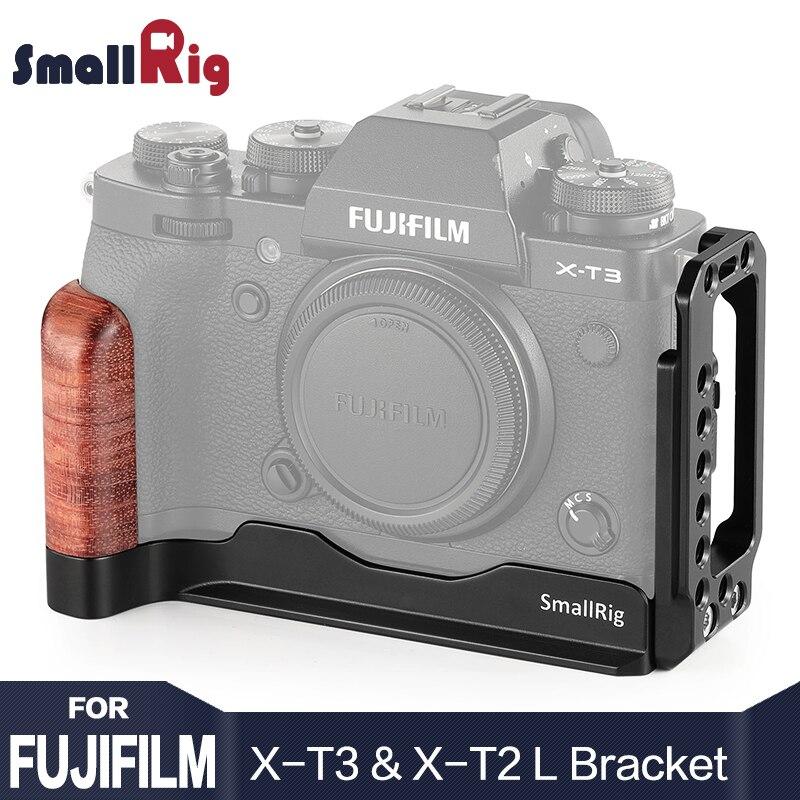 SmallRig Quick Release L Plate for Fuji X T3 Camera L Bracket for Fujifilm X T3 and X T2 Camera 2253