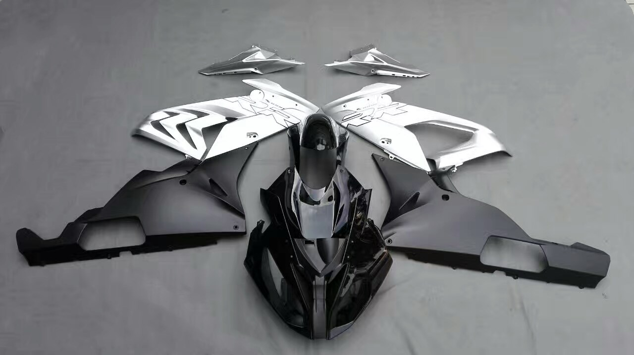 Motorcycle Injection Fairing Kit For BMW S1000RR S 1000 RR 2015 2016 S 1000RR 15 16 Bodywork Fairings Cowl Silver Black UV Paint for bmw s1000rr fairing s1000 rr s 1000rr s1000 rr 2010 2013 red and white injection mold bodywork fairings kit
