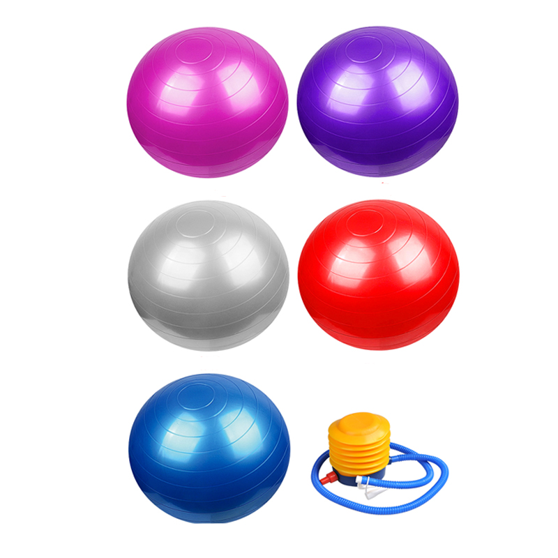 New Product WEING- WS981 GYM BALL 5 Colors PVC Material Change Body Weight Loss