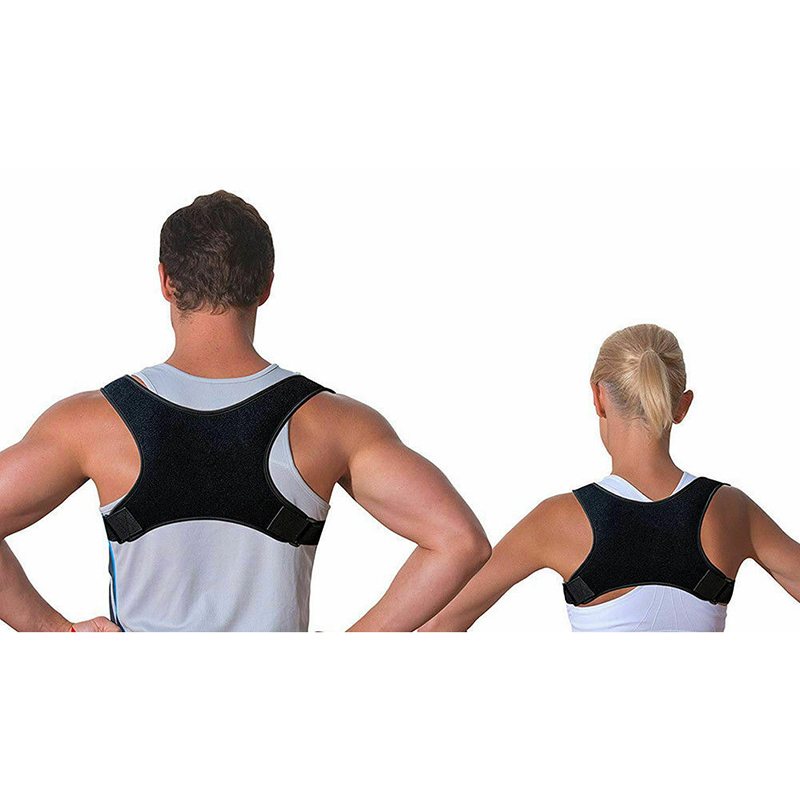 2019 Men Women Posture Corrector Fracture Support Back Shoulder Correction Brace Belt Strap Cummerbunds Fashion New Hot