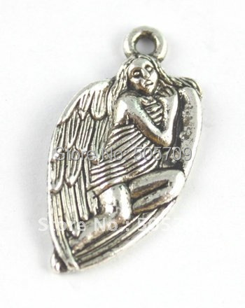 270 шт тибетские серебряные сказочные амулеты A15517