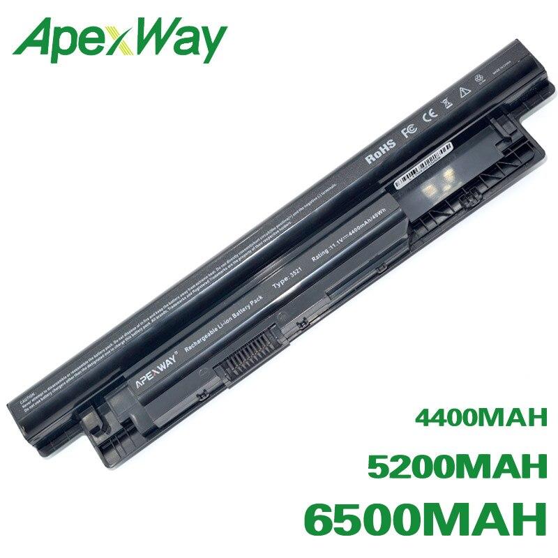 ApexWay Laptop Battery For Dell Inspiron 3521 17R 5721 15R 5521 15 14R 5421 14 3421 MR90Y VR7HM W6XNM Mr90y YGMTN XRDW2 T1G4M