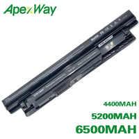 ApexWay Batteria Del Computer Portatile per Dell Inspiron 3521 17R 5721 15R 5521 15 14R 5421 14 3421 MR90Y VR7HM W6XNM mr90y YGMTN XRDW2 T1G4M