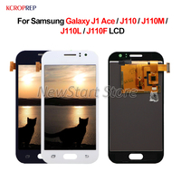 For Samsung Galaxy J1 Ace LCD Display Touch Screen Digitizer Assembly 4.3 For Samsung Galaxy J1 Ace J110 J110M J110L J110F lcd
