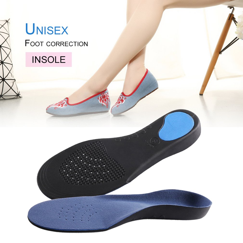 1 Pair Orthotic Flat Foot Arch Support Cushion Shoe Insoles Heel Pain Relief Men Women Plantar Fasciitis Relief Foot Care Tool 5