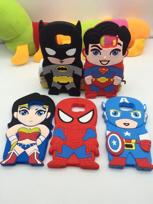3D <font><b>Super</b></font> <font><b>Hero</b></font> superman batman Captain America <font><b>Spider</b></font> <font><b>Man</b></font> Soft Silicone Back Cover Phone <font><b>Case</b></font> <font><b>For</b></font> <font><b>Samsung</b></font> <font><b>Galaxy</b></font> S6 phone <font><b>cases</b></font>