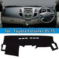 Dashmats автомобиля - стайлинг приборная панель для Toyota Fortuner sw4 2004 2005 2006 2007 2008 2009 12 2013 2015