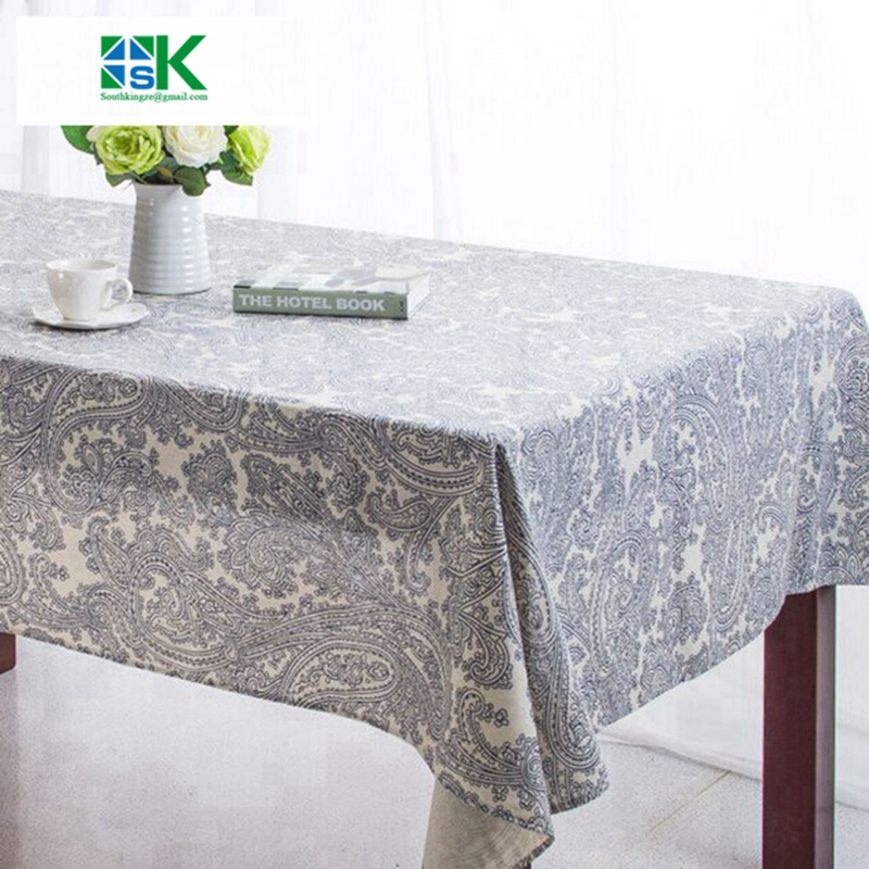 2016 Summer New Nappe Table Cloth Plastic Waterproof Oilproof Dining TableCloth  Rectangle Toalhas De Mesa Printed