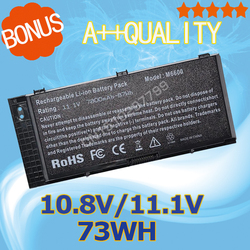 11.1v akumulator do laptopa 73Wh FV993 dla Dell Precision M6600 M6700 M6800 M4600 M4700 M4800 T3NT1 PG6RC R7PND OTN1K5 N71FM w Akumulatory do laptopów od Komputer i biuro na