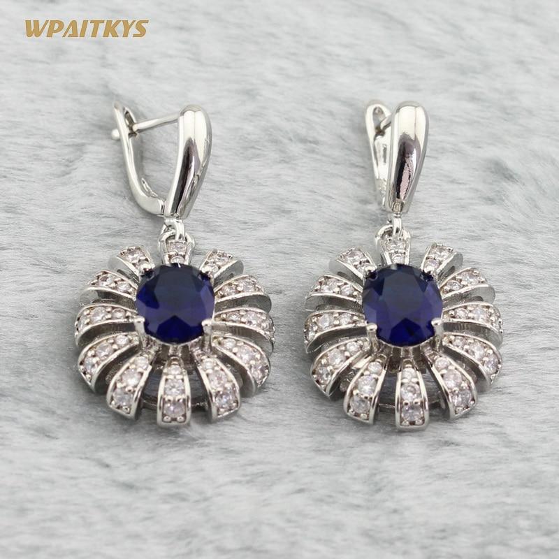 Срібні ювелірні набори 925 для жінок - Модні прикраси - фото 5