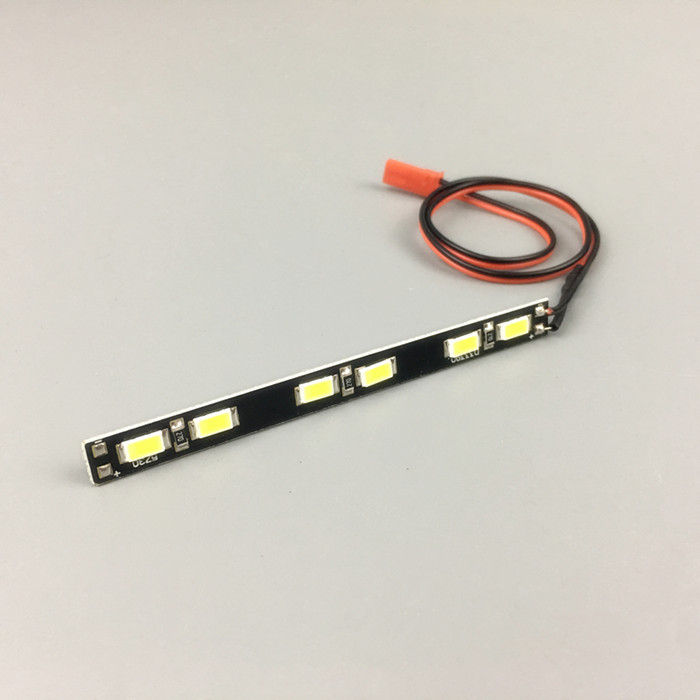 1PCS LED Light Bar Simulation Super Bright Roof Lamp Long/Short Headlight Bar with Lead Wire for RC Rock Crawler Off Road Trucks big rc cars 2 4g rock crawler 4wd trucks toys 1 12 off road vehicle buggy electronic model car toys for children christmas gift