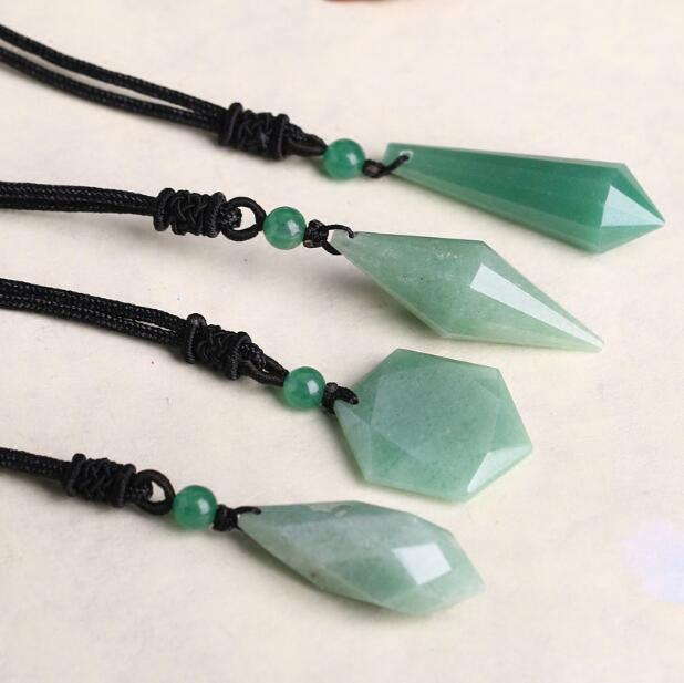 Natural crystal DonglingJade spirit in a drop drop angel s tears of the six star necklace