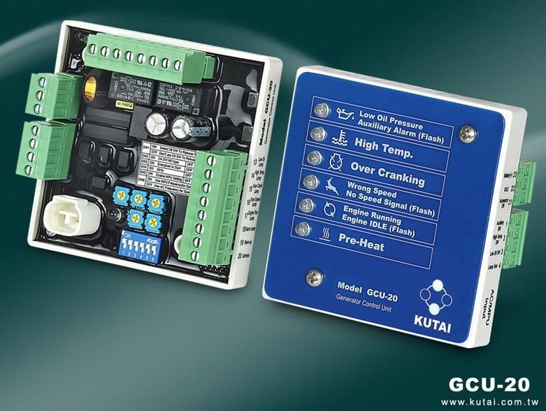 original KUTAI GCU-20 Generator Control Unit gcu 20 generator control unit solid thai also means kutai generator control unit