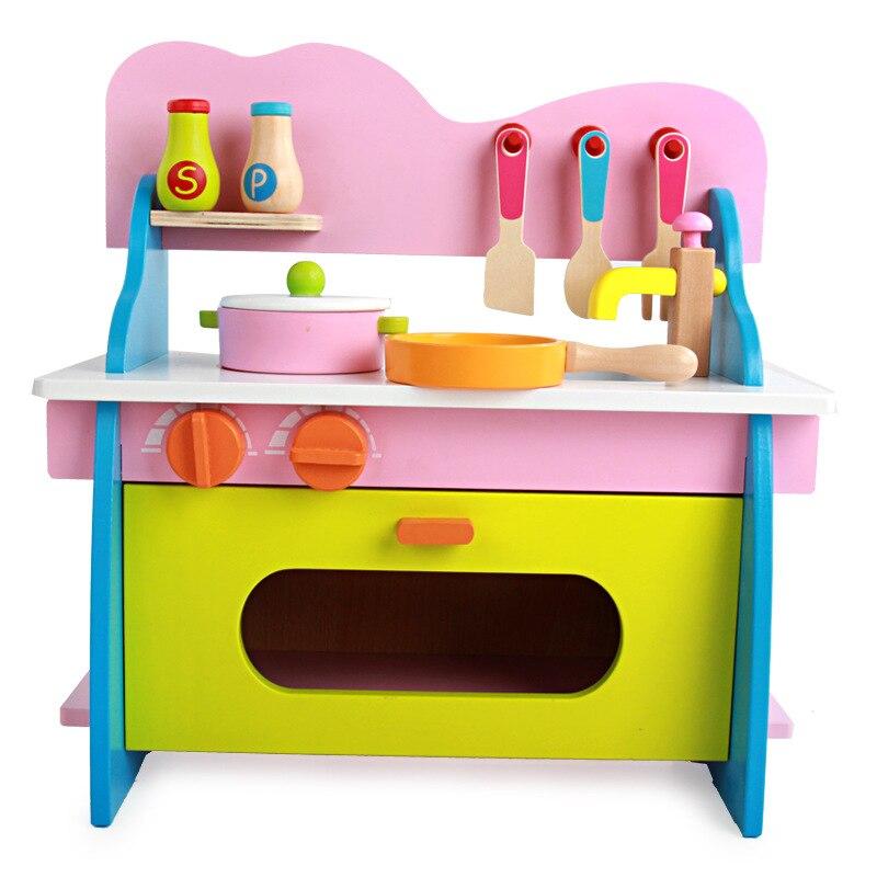 Online kopen Wholesale houten speelgoed kachel uit China houten ...