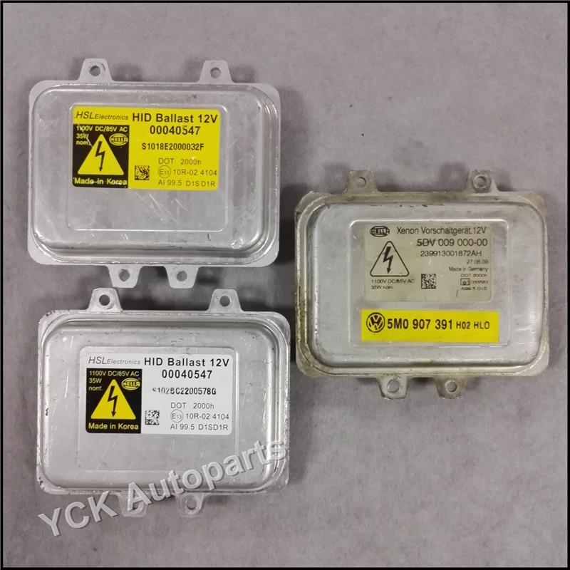 Original 1PC D1S D1R HID Xenon Headlight Ballast 5DV 009 000-00 00040547 10R024104 (Genuine and Used)
