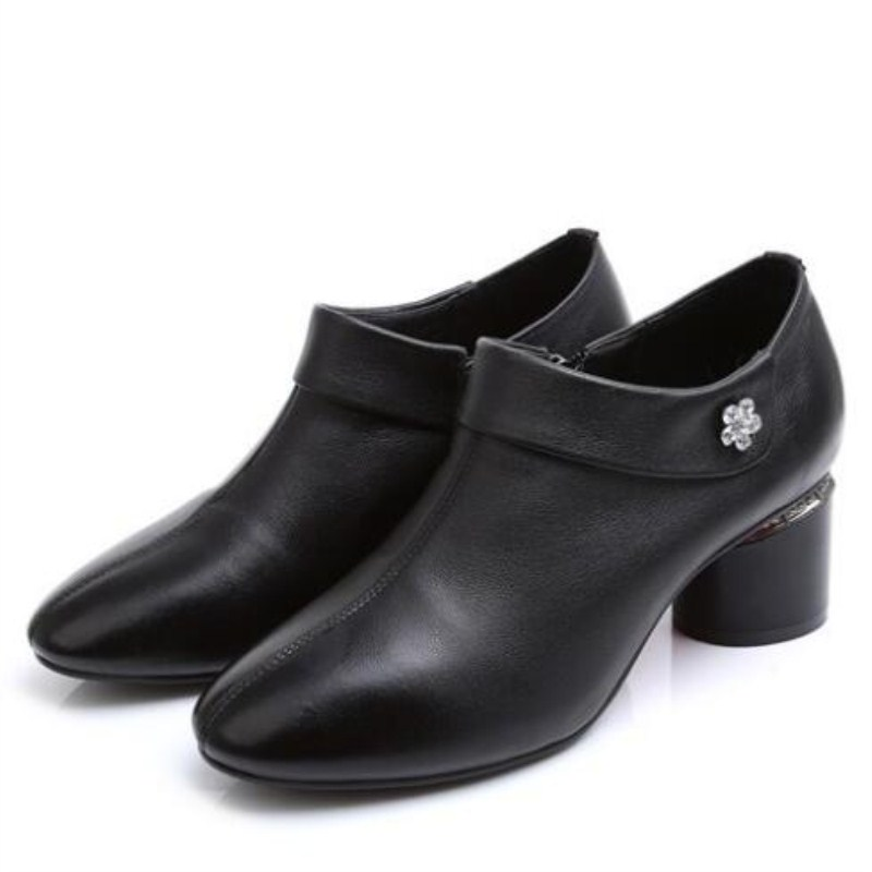 Heels Schuhe Aus Plus High Marke yellow Schwarzes Elegante Herbst Singe Leder Frauen 2019 Mode Zxryxgs Brown Größe Echtem Neue Frühling q5OYxzzp
