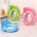 Cheap baby potty seat toilet seat ring children portable toilet seat auxiliary soft toilet cover