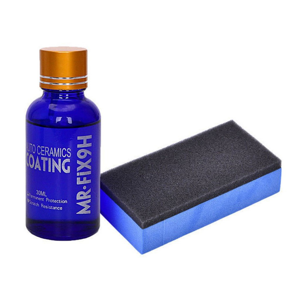 Professioanl 9H Crystal Coating Super Hydrophobic High Gloss Shiny Like Mirror Ceramic Coating Liquid Glass Car Coating Kit Hot