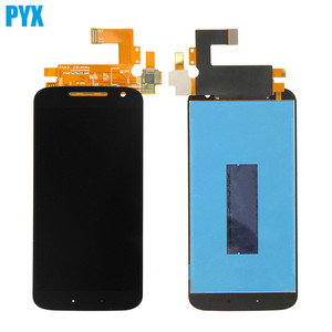 Image 2 - Полный ЖК дисплей для Motorola Moto G4 ЖК дисплей Xt1620 XT1621 Xt1622 Xt1625 Xt1626 дисплей сенсорный экран дигитайзер в сборе с рамкой