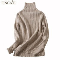 Cashmere Sweater 2017 Autumn Winter Women 100 Pure Cashmere Vertical Striped Knitted Casual Slim Sweaters Pullovers