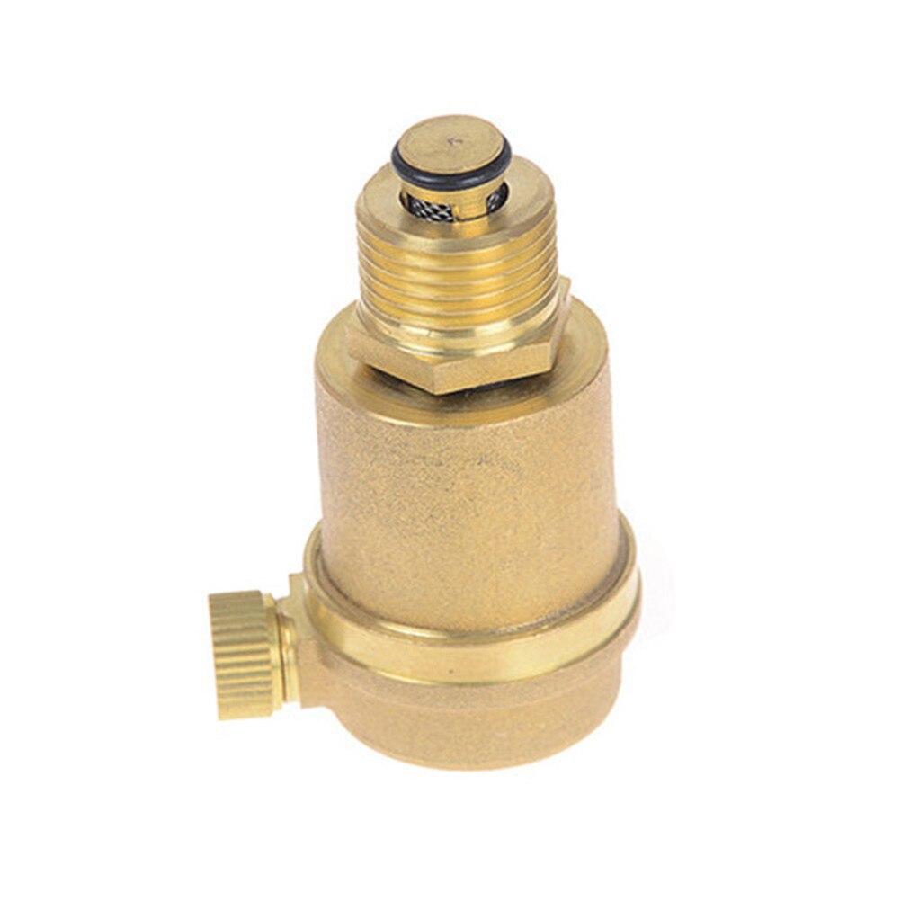 Sanitär 1/2 messing Air Vent Ventil Automatische Luftdruck Vent Ventil Für Solar Wasser Heizung Druck Relief Wert Hardware Werkzeuge Quell Sommer Durst