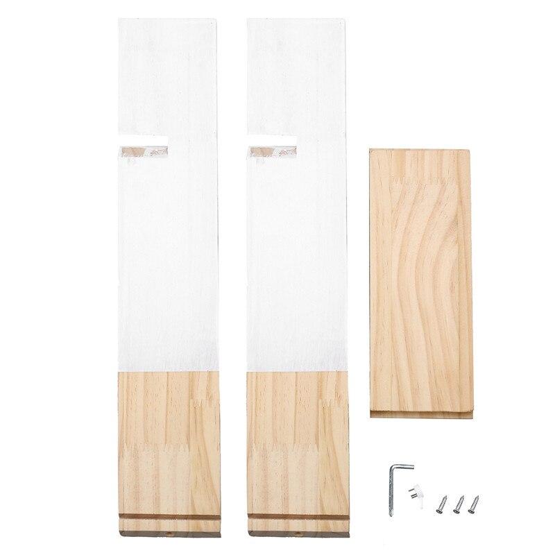 Mooie Houten Plank Voor Aan De Muur.Us 26 99 Scandinavische Stijl Houten Driehoek Plank Mooie Kleuren Plank Muur Opknoping Trigon Opslag Boek Plank Thuis Kids Babykamer Diy Decor Gift