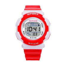 XINGE Children Watches Cute Kids Watches Sports Cartoon Watch for Girls boys Rubber Children's Digital LED Watches wholesale