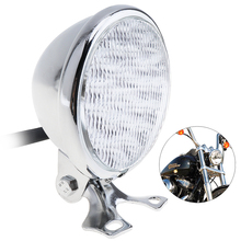 5 Inch Universal 35W 12V Motorcycle Headlight Round LED Light with Holder for Motorbike