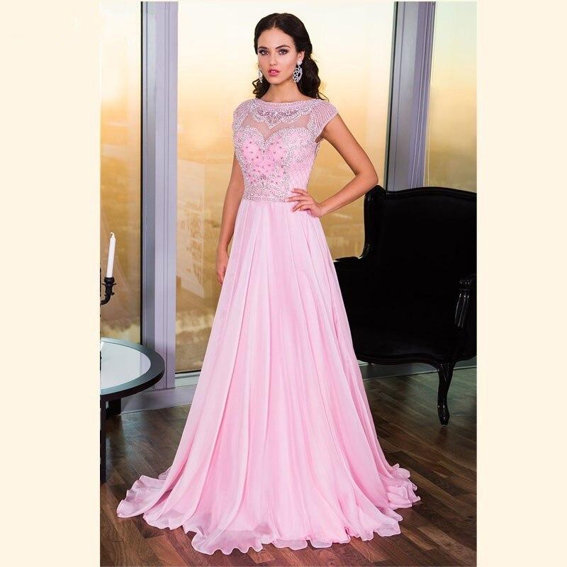 Pink Cap Sleeve Dress