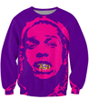 A$AP Rocky Crewneck Sweatshirt SICK Sweats Jumper Women Fashion Clothing  Tops Men Hoodies  Outerwear Streetwear