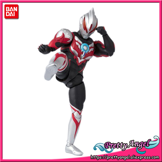 PrettyAngel - Genuine Bandai Tamashii Nations S.H. Figuarts Exclusive Ultraman ORB Ultraman Orb Thunder Breastar Action Figure 100% original bandai tamashii nations s h figuarts shf exclusive action figure ultraman suit ver 7 2 from ultraman
