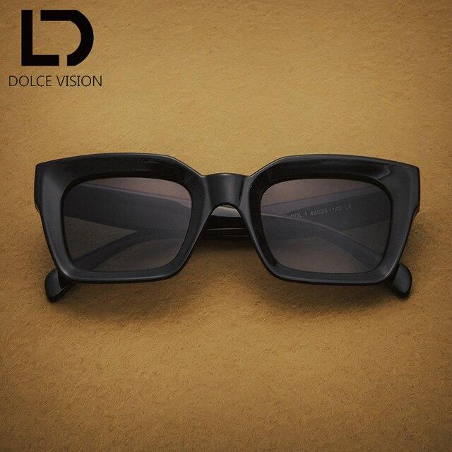 970a5bfd2b1a6 DOLCE VISÃO Leopardo Quadrado Gradiente Óculos De Sol Das Mulheres Rebite  Design Da Marca de Alta