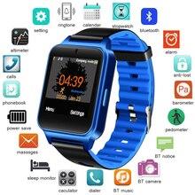 LIGE Smart Watch Men Women Support TF SIM Card Fashion Sport Fitness SmartWatch Pedometer For Android IOS Reloj inteligente+Box