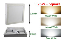 Free Shipping 6W 12W 18W Round Square Led Panel Light Surface Mounted Downlight Lighting Led Ceiling