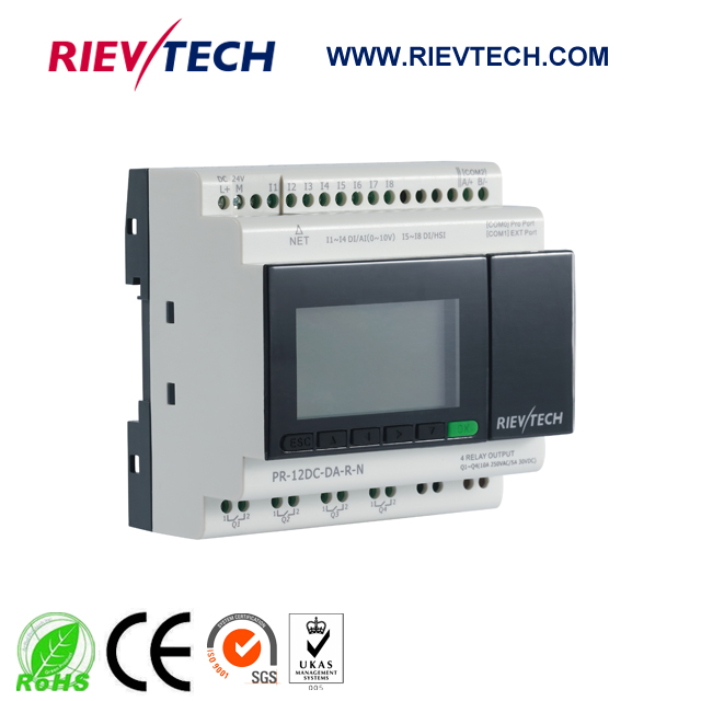 New MQTT Ethernet PLC,IoT Controller,IIoT Controller,ideal Solution For Remote Controller PR-12DC-DA-R-N