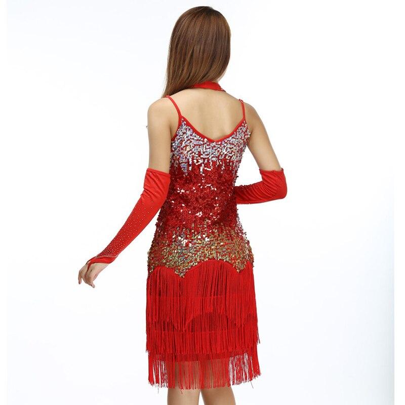 Womens Multi-Color Flapper Costume Fancy Dress Sequins /& Fringe Rainbow Adult