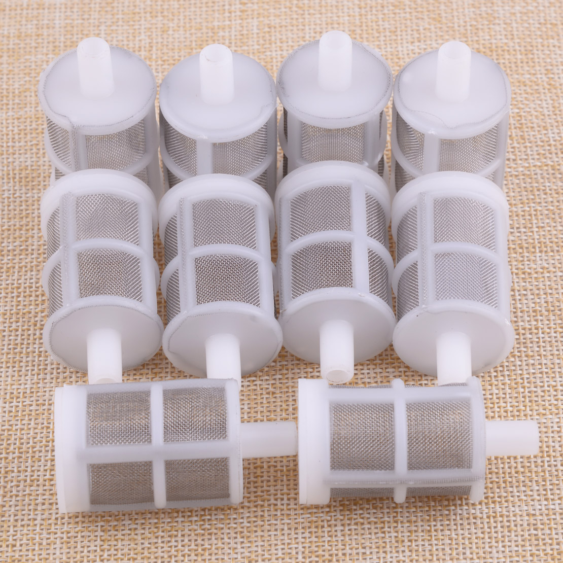 10pcs Stainless Steel Mesh Inching Siphon Filter Home Brew Homebrew Wine Making Tool