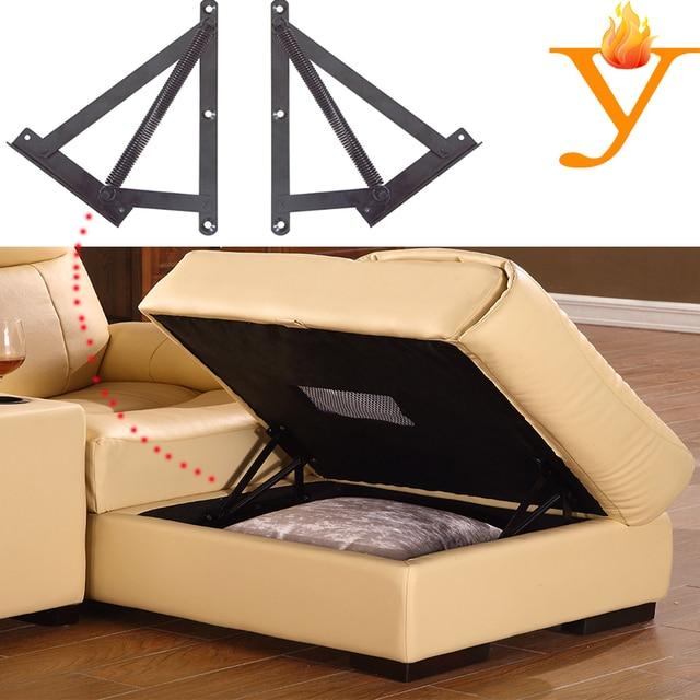 Modern Furniture Hardware Adjustable Sofa Bed Seat Storage Hinges ...