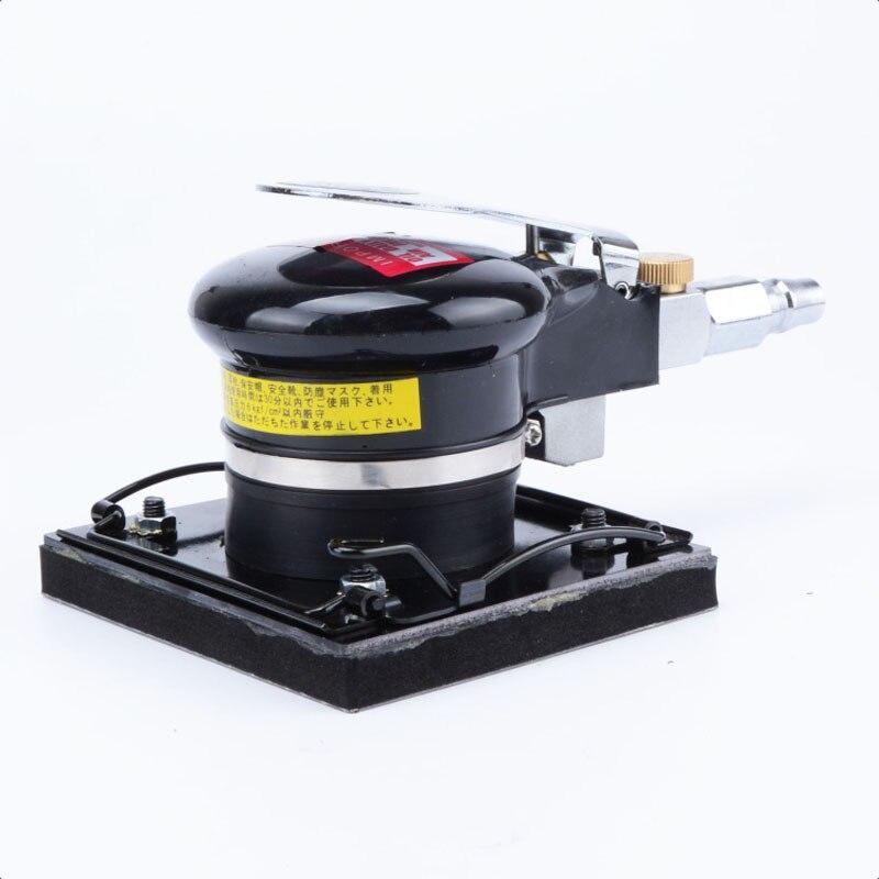цена на MY-3813 Square pneumatic sander square pad sandpaper machine grinder woodworking pneumatic polishing machine pneumatic tools
