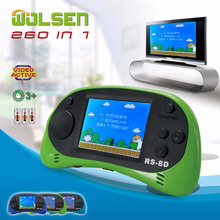 classic retro handheld game console mini video game console de jeux children gifts classic 260 in 1 game
