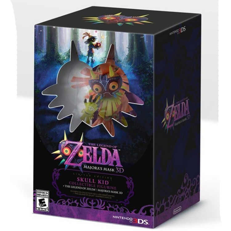 NEW hot 15cm Zelda Figure Skull Kid Majoras Majoras Mask FIGURE ONLY Limited-Edition action figure toys Christmas toy