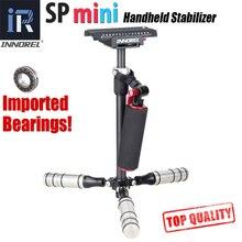 SP mini Handheld Estabilizador Leve De Fibra De Carbono steadicam para DSLR Câmera de Vídeo DV Luz Steady cam de alta qualidade de construção