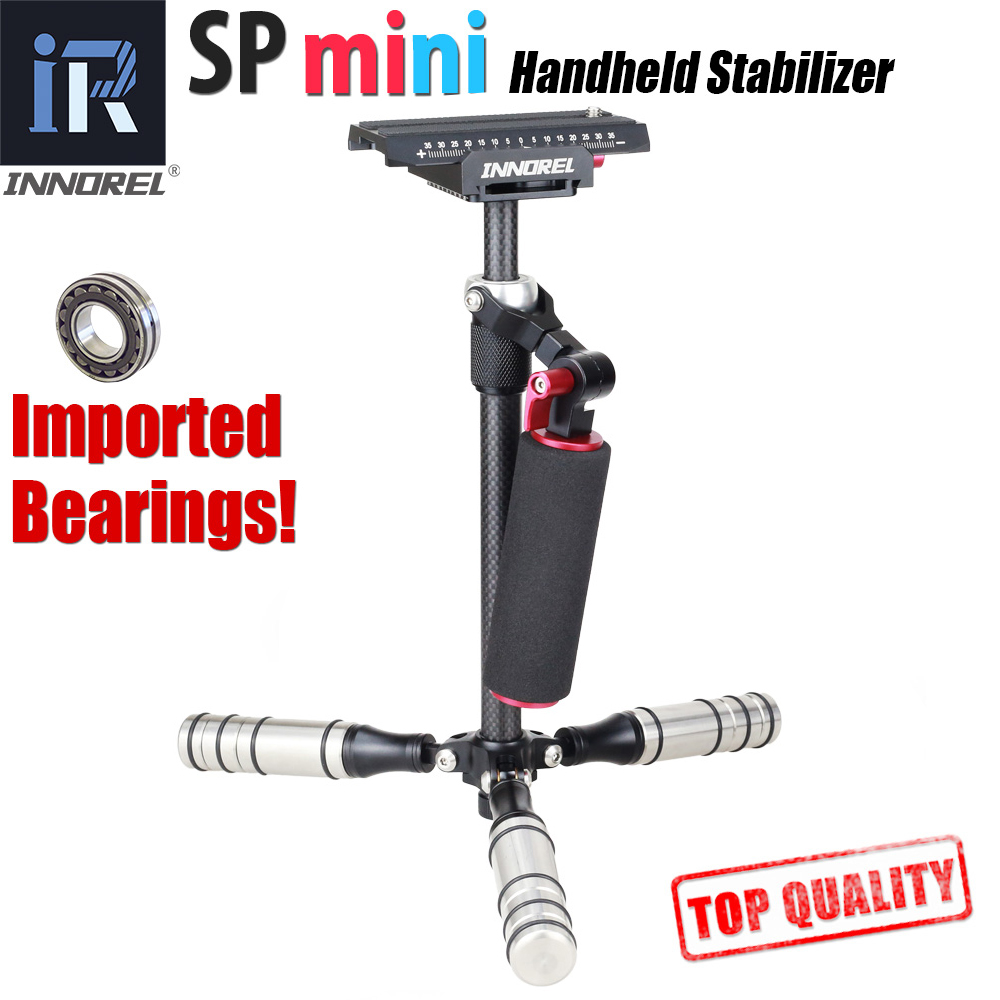 SP mini Handheld Stabilizer Lightweight Carbon Fiber steadicam for DSLR Video Camera DV Light Steady cam high build quality-in Photo Studio Accessories from Consumer Electronics