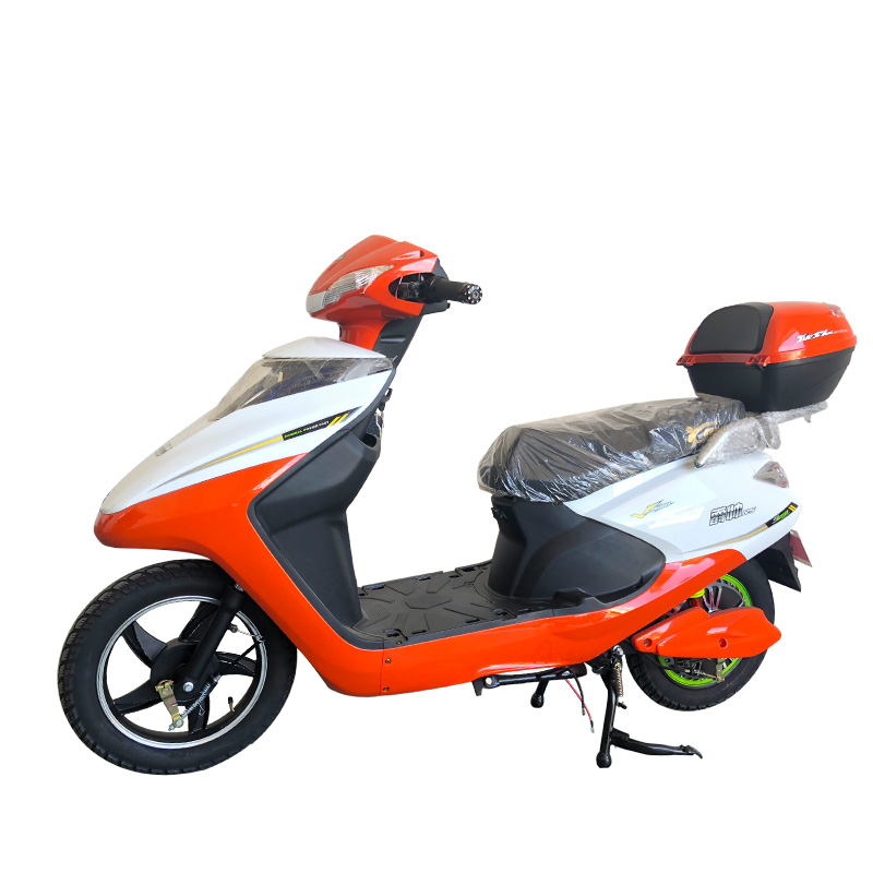 Электрический скутер без педалей, недорогой скутер с одним сиденьем, популярный электрический велосипед с рамой из алюминиевого сплава 48 В
